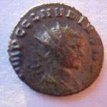 antoninien, Rome 1ére ém 9e off sept 268-début 269, 3.15 g,Avers: IMP C CLAUDIUS AUG buste radié drapé et cuir à drt