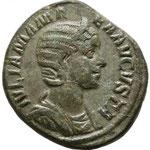 sesterce, Rome, 20,75 g, 228, 6e officine. Avers:  IVLIA MAMA-EA AVGVSTA