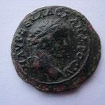 ALEXANDRE SEVERE: Bronze de Nicomédie, 22 mm, 5.77 g, Avers: M AYP CЄVΛΛCI ANΔPOCAV