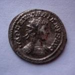 aurélianus, Numérien Auguste, Lyon 6e ém 3e off, 3.57 g, Avers: IMP C NUMERIANUS AUG