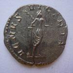 Revers: VENUS VICTRIX, TTB+, Vénus debt vue de dos, callipyge, une pomme ds la main drte. rare (R)