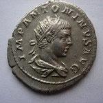 Antoninien, 4.89 g, Avers: IMP ANTONINUS AUG tête radiée d'Elagabale