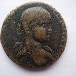 bronze colonial d'Antioche en Pisidie, légende absente à l'avers, 7.16 g