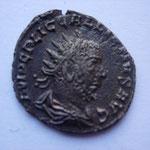antoninien, 254 2e ém, 2.69 g, Avers: IMP C P LIC GALLIENVS AVG buste drapé cuirassé à droite