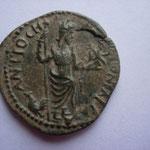 R/ ANTIOCH COLONIAE CA. TTB+ au revers avec Mên (dieu lune) très rare R2 Naumann numismatik mars 2016