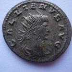 antoninien, 265-268, 4.20 g, Avers: GALLIENVS AVG buste drapé à droite