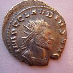 Antoninien, Rome 269 4e off, 3.02 g, Avers: IMP C CLAVDIVS AVG buste cuirassé à drt