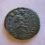 Revers: ROMAE AETERNAE / A CONS Constantinople, patine verte, TTB
