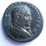 as, Rome 215, 10.02 g, Avers: ANTONINVS PIVS AVG GERM