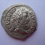 denier, Rome 210, 3.33 g, Avers: SEVERVS - PIVS AVG