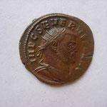 pseudo aurelianus, Alexandrie 2.66 g, 306-307, Avers: IMP C SEVERVS P F AVG