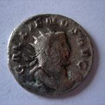antoninien, 261, 2.96 g, Avers: GALLIENVS AVG buste cuirassé à droite