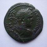 moyen bronze (25 mm) de Stobensium, 7.00 g, Avers: M AUR ANTONINUS