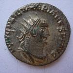 antoninien Samosate (ou atelier secondaire d'Orient) 258-259, 2.89 g, Avers:  IMP C P LIC VALERIANUS AUG