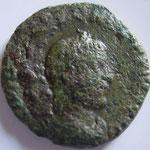 As, Rome, 6,85 g poids léger, 262-263, Avers: IMPC P LIC  GALLIENVS PF AVG