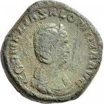 sesterce, Rome, 26,26 g, Avers: CORNELIA SALONINA AVG Dr. Busso Peus Nachf  E-AUKTION 420 - 18 - 19 /11/2017