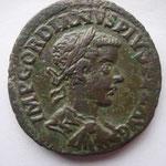 sesterce de Viminacium, 242-243, Avers: IMP GORDIANUS PIUS FEL AUG, 18.17 g