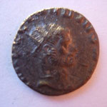 antoninien, flan court, Rome 1ére ém 7e off sept 268-début 269, 2.77 g, Avers: IMP C CLAUDIUS AUG