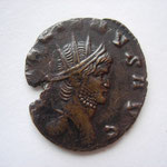 antoninien, Rome, 267-268, 11° officine, 2.29g, Avers: GALLIENVS AVG