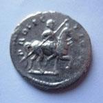 Revers: PROFECTIO AUG, Septime Sévère à cheval à droite, Rare, TTB