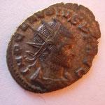 antoninien, Milan, 2e ém 1ére off, 2.98 g, Avers: IMP CLAUDIUS P F AUG