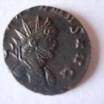 antoninien, Rome, 267, 2.69 g, Avers: GALLIENVS AVG buste à droite un pan de paludamentvm sur épaule gauche