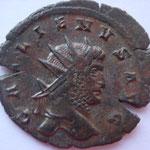 Antoninien, Siscia, 262-266,  A/ GALLIENVS AVG