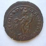 Revers: GENIO POPULI ROMANI / B / PL , TTB rare (R)