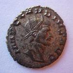 antoninien, Rome 3e ém 11e off mi 269-fin 269, 2.96 g, Avers: IMP CLAUDIUS AUG