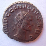 antoninien, Rome 1ére ém 2e off sept 268-début 269, 3.50 g, Avers: IMP C CLAUDIUS AUG buste nu tête radiée à drt