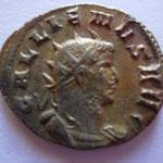 antoninien, 261, 2.98 g, Avers: GALLIENVS AVG commémore les vict de Gallien sur  Ingenvvs et Régalien