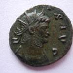 antoninien, Rome, 6e émission, 6e officine, 267-268, 2.73g, Avers: (GALLIEN)VS AVG portrait radié et cuirassé à droite