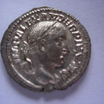 denier, Rome, 2.25 g, 232, 5e officine, 15e émission, Avers: IMP ALEXANDER PIVS AVG