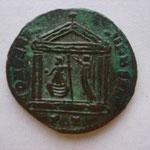 Revers: CONSERV - VRB SVAE / PT, beau TTB rare (R) Rome ds 1 temple couronnée par une Victoire
