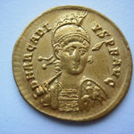 solidus, Constantinople, 5e officine, 397/402, 4.39g, Avers: DN ARCADIVS P F AVG
