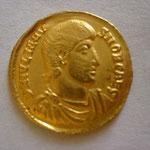 solidus, Antioche 10e ém 7e off 355 - 357, 4.48 g, Avers: D N IVLIANV-S NOB CAES