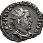 Rome  AntoniniEN Billon 21 mm., 2,00 g.  A/IMP C P LIC VALERIANVS PF AVG
