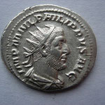 antoninien, Avers: MP M IVL PHILIPPVS AVG , 4.52 g, Rome, 1ére off, fin 245-246, TTB+
