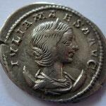 antoninien Julia Maesa, 218-219, 5e émission, Rome, 4,56g poids léger pour ce type, A: IVLIA MA-ESA AVG