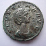 demi aurélianus Rome 275 5° officine 2.75 g, Avers: SEVERINA AVG