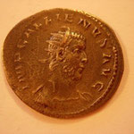 antoninien, 3.28 g, 3e ém 1e off 257-258, Avers: IMP GALLIENUS AVG