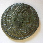 maiorina Vétranion pour Constance II, Siscia, 5.20 g, Avers: DN CONSTAN-TIUS P F AUG