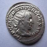 antoninien, Rome, 3-4e ém 8e off, 250, 4.38g, Avers: IMP C M Q TRAIANVS DECIVS AVG