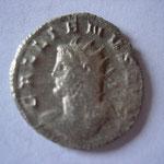 antoninien, 261, 2.97g, Avers: GALLIENVS AVG rare buste à gauche