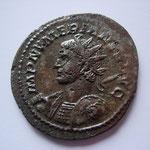 aurélianus, Lyon, 3,00 g, 2eme officine, 284, Avers:  IMP NVMERIANVS AVG.