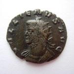 antoninien, Rome (ou Siscia), 262, 6e officine, 2.24g, A: buste cuirassé à gauche paludamentum sur ép droite GALLIENVS AVG