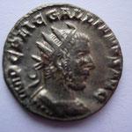 antoninien, 2.95 g, 1ére ém 08/253-début 254, Avers: IMP C P LIC GALLIENVS AVG buste cuirassé à droite