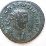 antoninien, Londres  7e ém 292, pour Carausius Dioclétien Maximien, 3.30 g, Avers: IMP C CARAUSIUS P F AUG