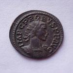 aurélianus, Lyon 1ére off 277/78, 3.63 g, Avers: IMP C PROBUS PF AUG buste cuir radié à drt + pan de paludamentum ép g