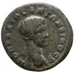 Diaduménien, assarion bronze, Moesia Inferior. Marcianopolis, 4.74 g, A: M OPEL DI O C ANTWNINOC